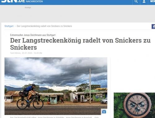 STUTTGARTER NACHRICHTEN: Der Langstreckenkönig radelt von Snickers zu Snickers