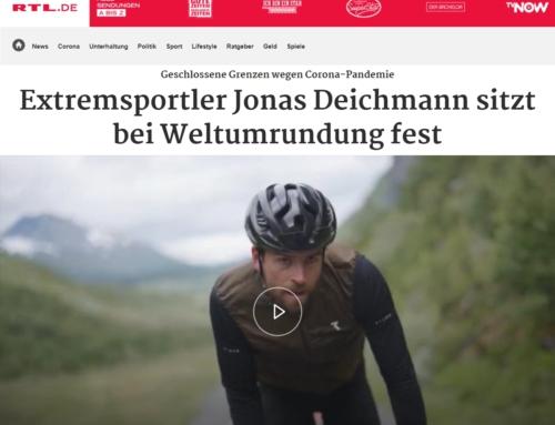 RTL: Extremsportler Jonas Deichmann sitzt bei Weltumrundung fest